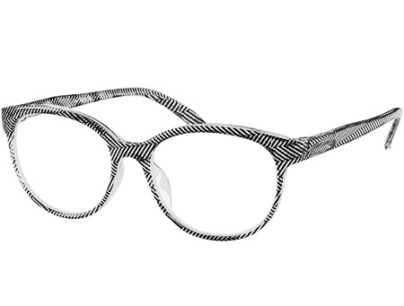 Lala (Black) Cat Eye Reading Glasses - Thumbnail Product Image