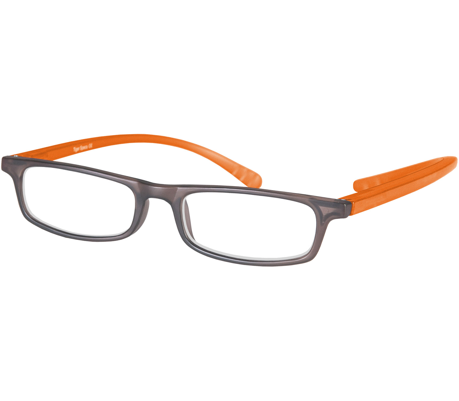 Main Image (Angle) - Jam (Orange) Neck Hanging Reading Glasses