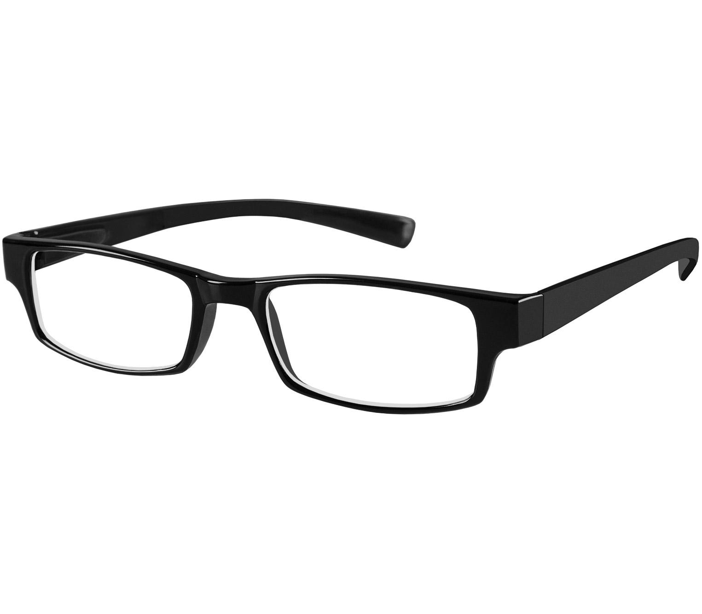 Main Image (Angle) - Magic (Black) Classic Reading Glasses