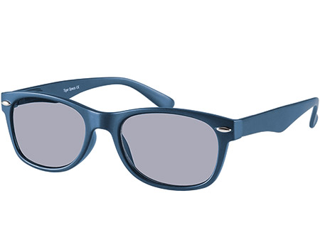 Seville (Blue) Wayfarer Sun Readers - Thumbnail Product Image