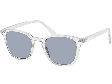 Davos (Clear) Retro Sun Readers - Thumbnail Product Image
