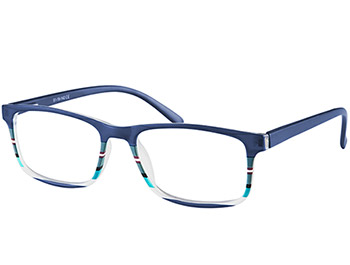 Samba (Blue) Classic Reading Glasses - Thumbnail Product Image