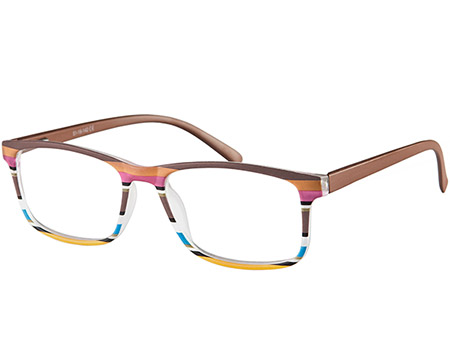 Samba (Brown) Classic Reading Glasses - Thumbnail Product Image