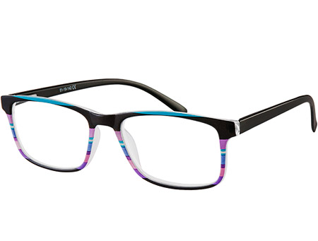 Samba (Black) Classic Reading Glasses - Thumbnail Product Image
