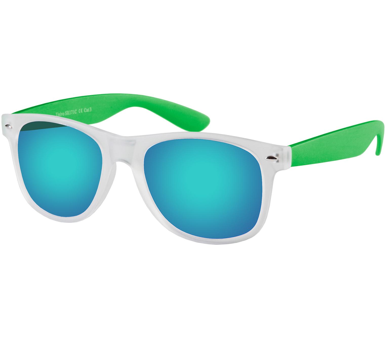 Main Image (Angle) - Freeway (Clear) Wayfarer Sunglasses