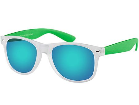Freeway (Clear) Wayfarer Sunglasses - Thumbnail Product Image