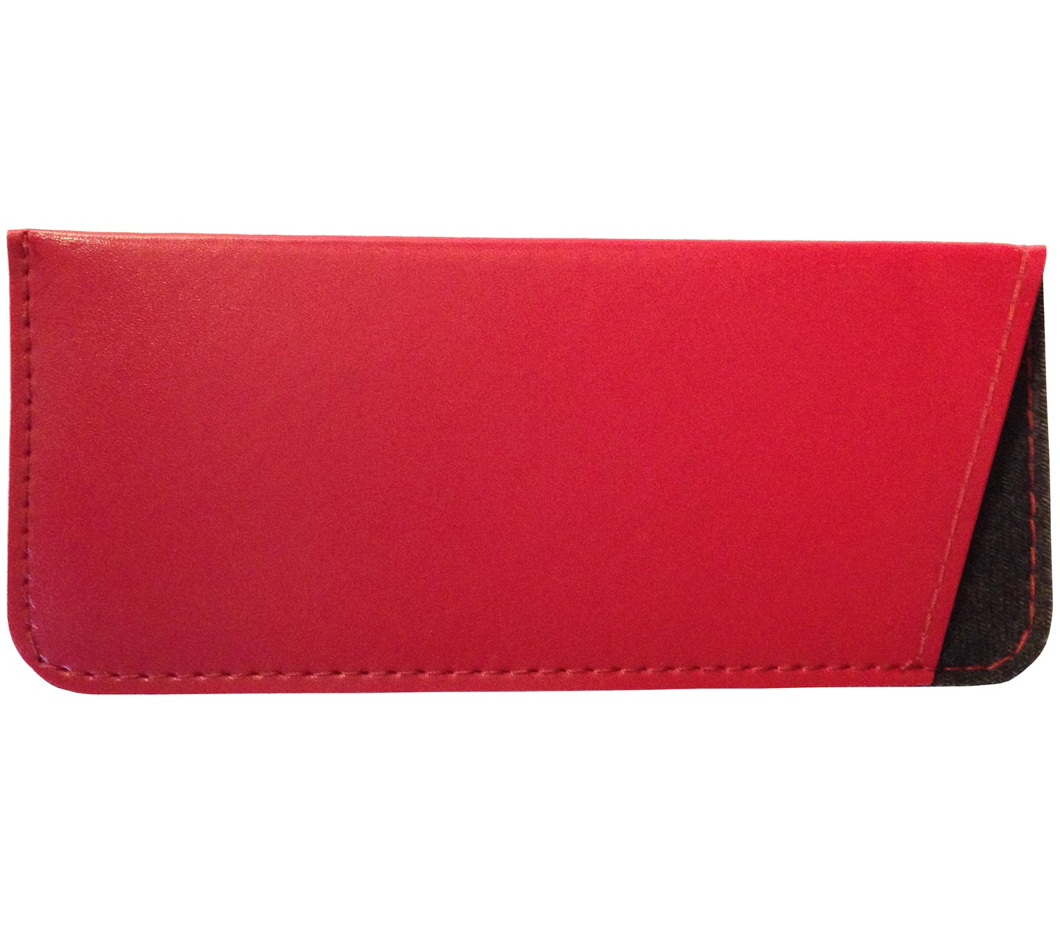 Main Image (Angle) - Brooks (Red) Glasses Pouches Accessories