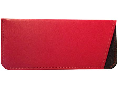 Brooks (Red) Glasses Pouches Accessories - Thumbnail Product Image