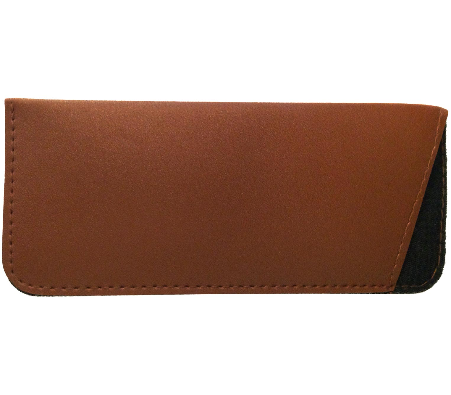 Main Image (Angle) - Brooks (Brown) Glasses Pouches Accessories