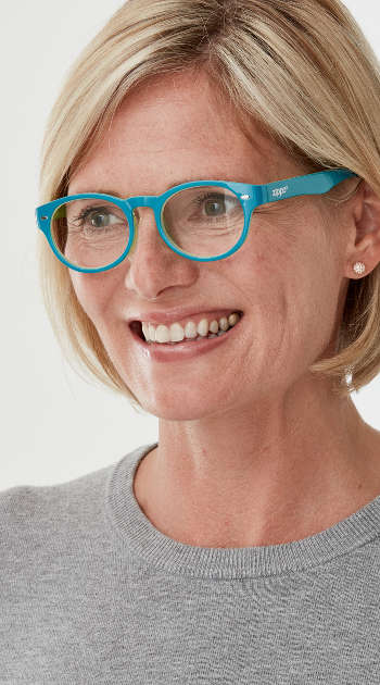 Yoyo (Turquoise) Retro Reading Glasses