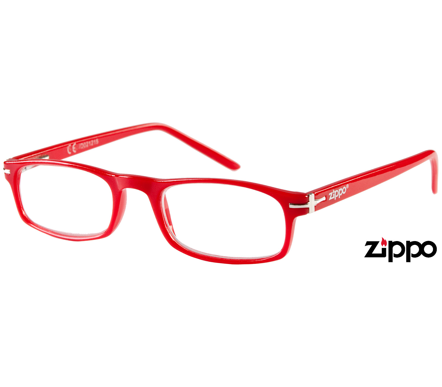 Main Image (Angle) - London (Red) Classic Reading Glasses