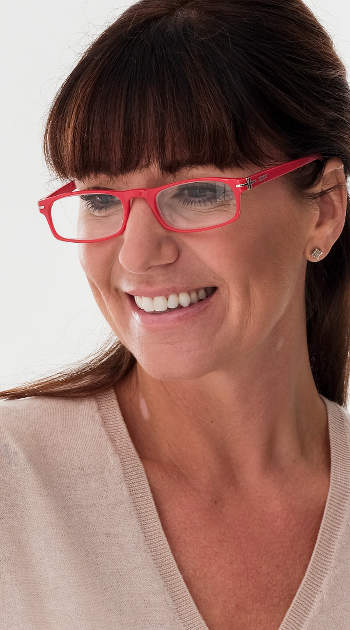 London (Red) Classic Reading Glasses