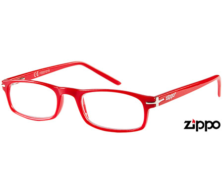 London (Red) Classic Reading Glasses - Thumbnail Product Image