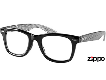 Soho (Black) Retro Reading Glasses - Thumbnail Product Image