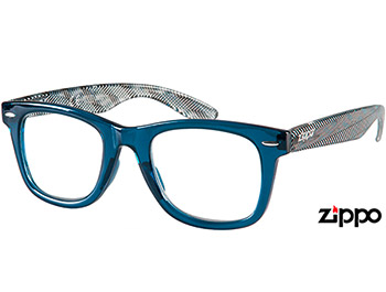 Soho (Blue) Retro Reading Glasses - Thumbnail Product Image