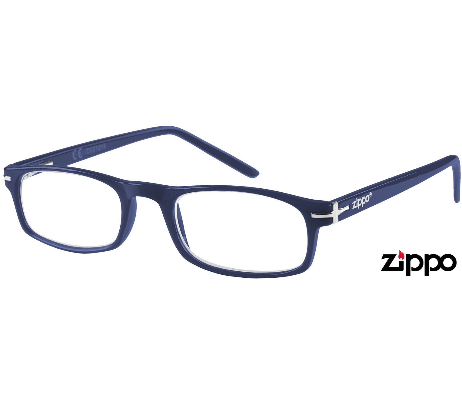 Main Image (Angle) - London (Blue) Classic Reading Glasses