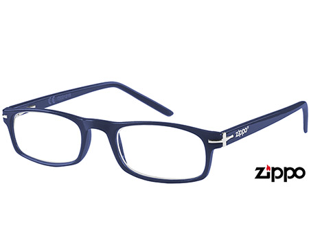 London (Blue) Classic Reading Glasses - Thumbnail Product Image
