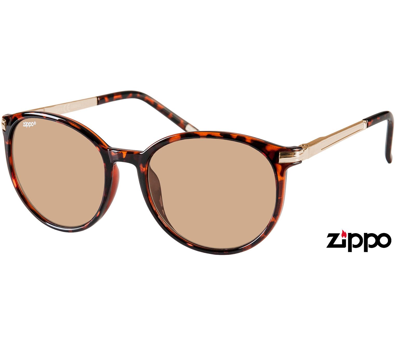 Main Image (Angle) - Passion (Tortoiseshell) Retro Sunglasses