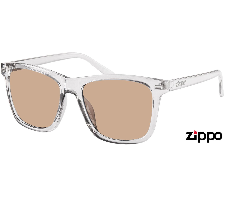 Main Image (Angle) - Sahara (Clear) Wayfarer Sunglasses