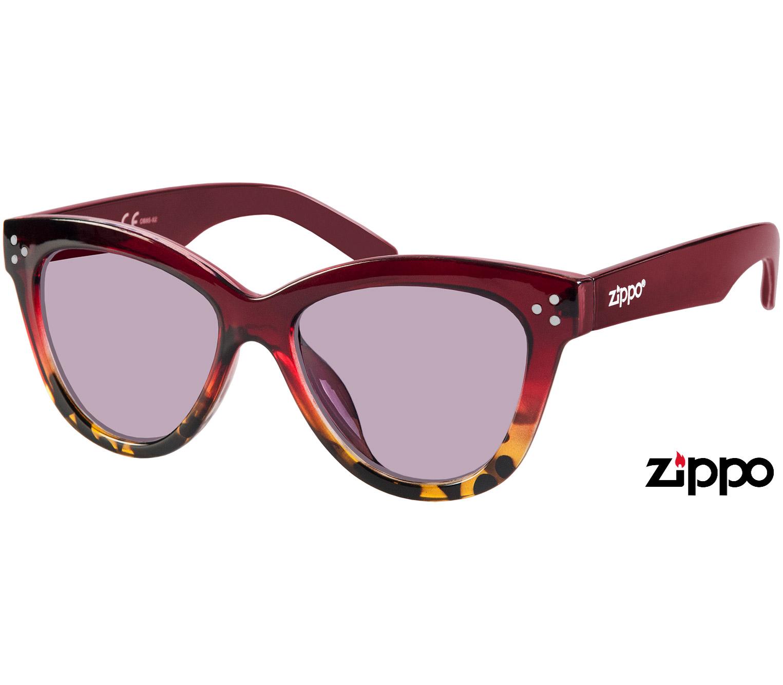 Main Image (Angle) - Sweetie (Red) Retro Sunglasses