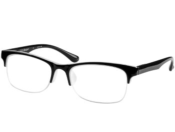 Keen (Black) Semi-rimless Reading Glasses