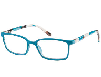 Petroc (Blue) Classic Reading Glasses