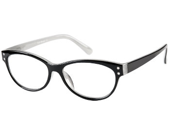 Lala (Black) Cat Eye Reading Glasses