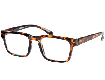 Storm (Tortoiseshell) Retro Reading Glasses