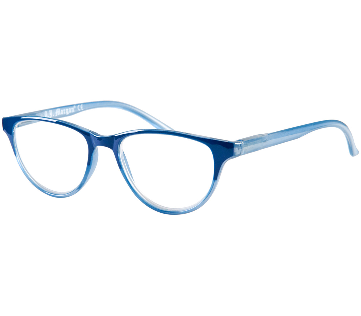 Main Image (Angle) - Madeline (Blue) Fashion Reading Glasses