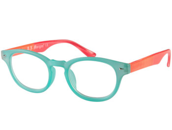 Big Fun (Turquoise) Retro Reading Glasses