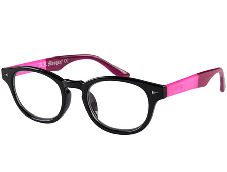 Big Fun (Black) Retro Reading Glasses - Thumbnail Product Image