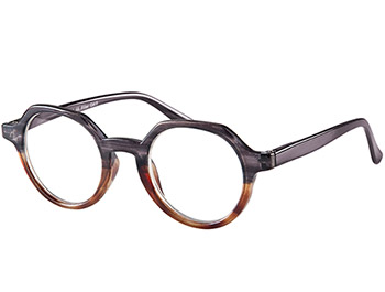 Montrose (Grey) Retro Reading Glasses - Thumbnail Product Image