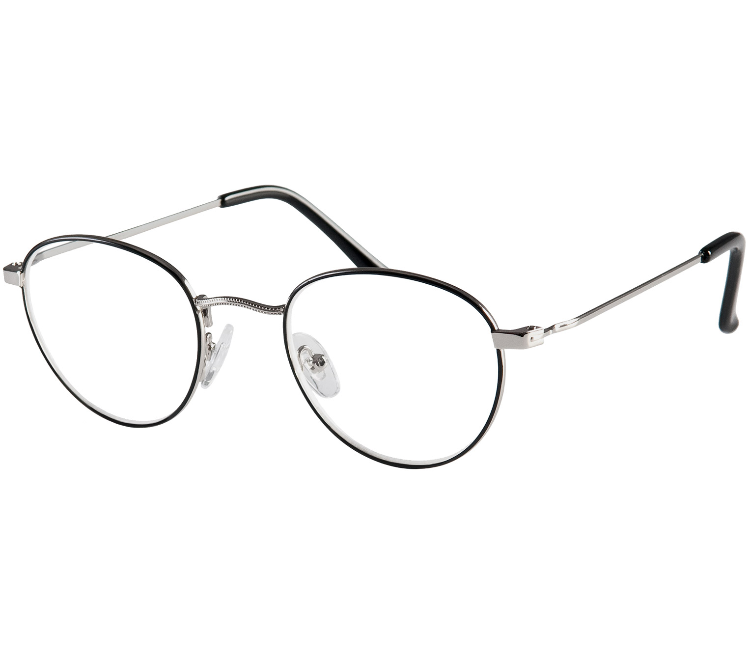 Main Image (Angle) - Oxford (Black) Reading Glasses