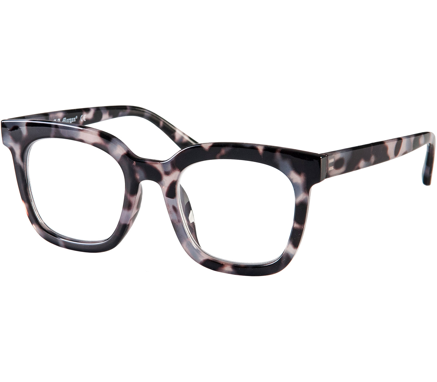 Main Image (Angle) - Superstar (Grey Tortoise) Reading Glasses
