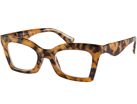 Ginger (Tortoiseshell) Cat Eye Reading Glasses - Thumbnail Product Image