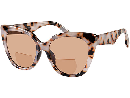 Solar (Grey Tortoise) Bifocal Sun Readers - Thumbnail Product Image