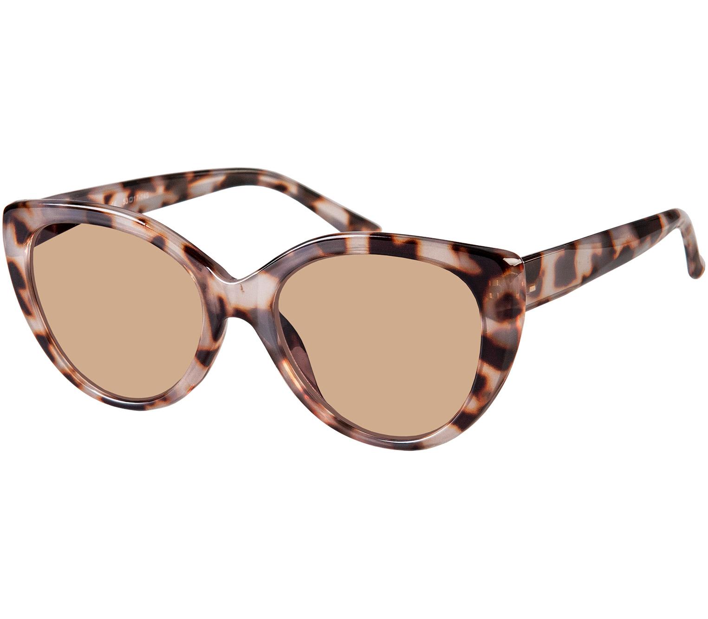 Main Image (Angle) - Ava (Grey Tortoise) Fashion Sun Readers