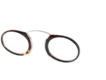 Mandarin (Tortoiseshell) Pince Nez Reading Glasses