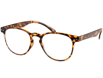 Ascot (Tortoiseshell) Retro Reading Glasses - Thumbnail Product Image