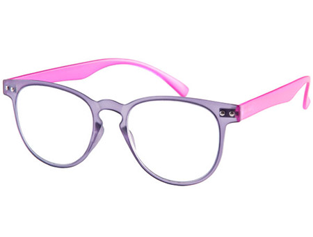 Ascot (Purple) Retro Reading Glasses - Thumbnail Product Image