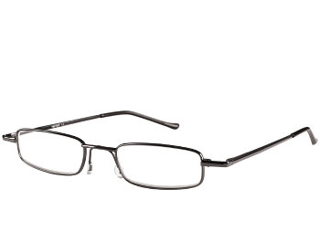 Cooper (Gunmetal) Tube Reading Glasses - Thumbnail Product Image