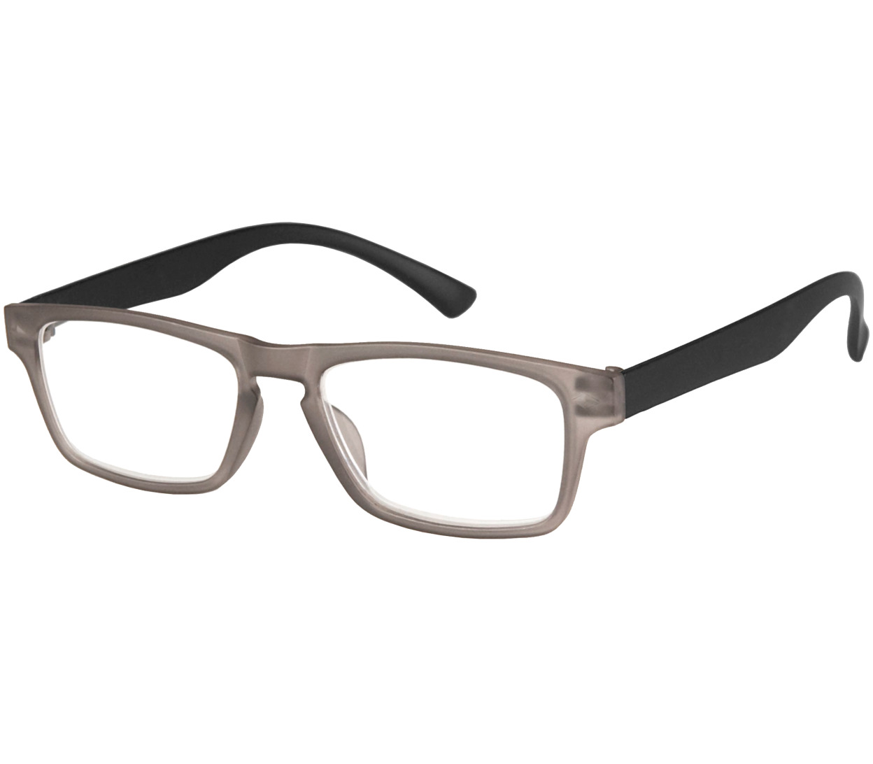 Main Image (Angle) - Sugar (Grey) Classic Reading Glasses