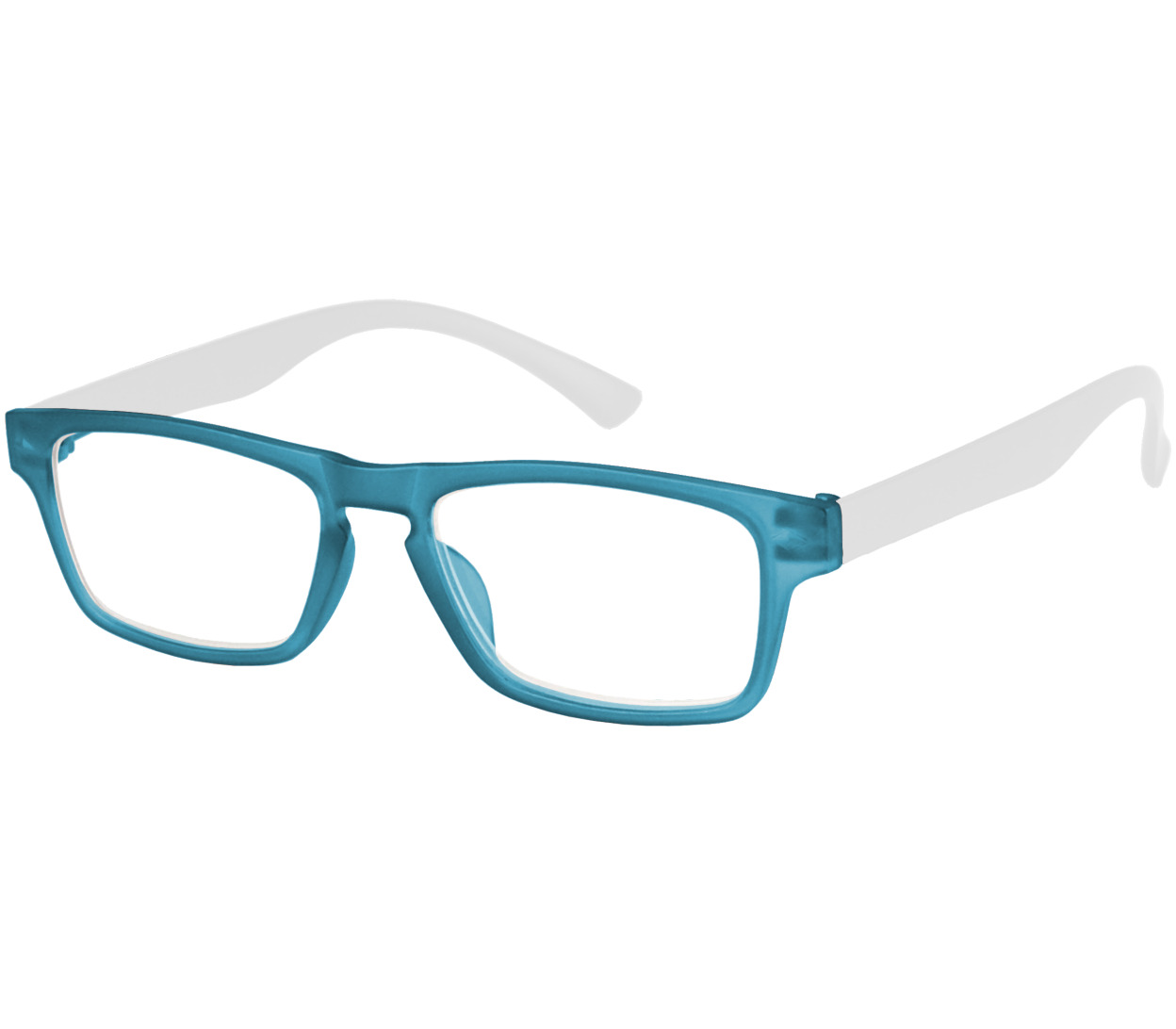Main Image (Angle) - Sugar (Blue) Classic Reading Glasses