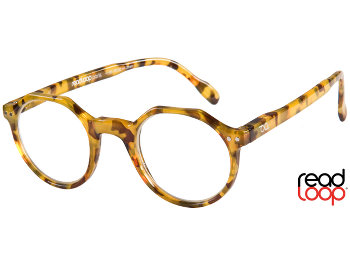 Hurricane (Honey Pearl) Retro Reading Glasses
