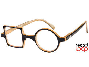 Patchwork (Black) Retro Reading Glasses