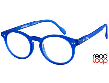 Nevada (Blue) Retro Reading Glasses - Thumbnail Product Image