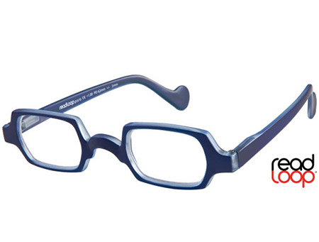 Culture (Blue) Retro Reading Glasses - Thumbnail Product Image