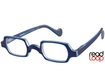 Culture (Blue) Retro Reading Glasses