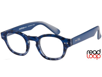 Everglades (Blue) Retro Reading Glasses