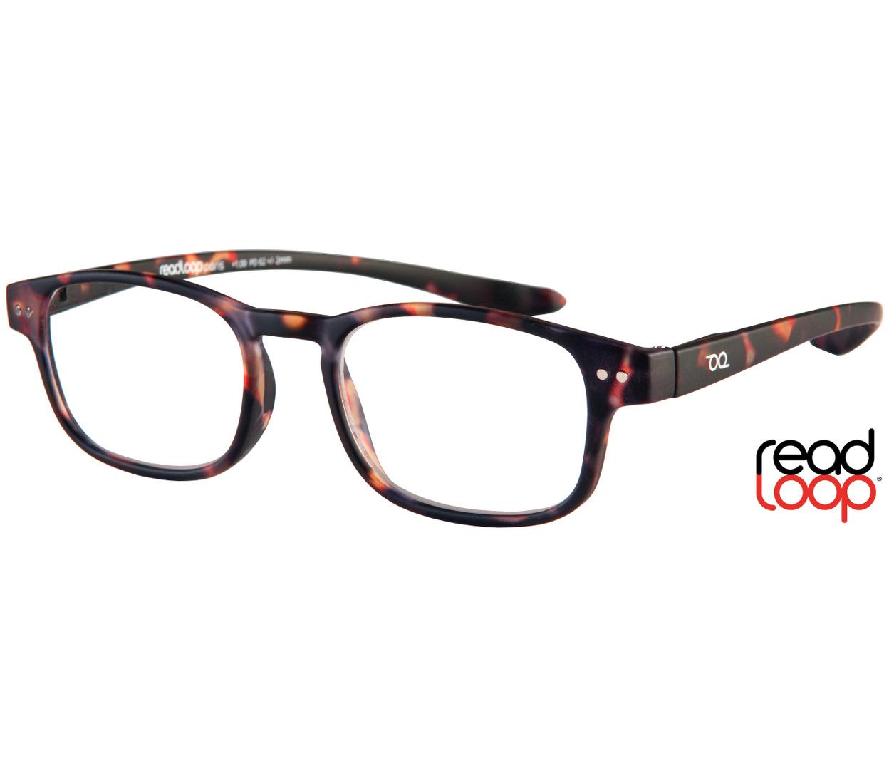Main Image (Angle) - Manta (Tortoiseshell) Classic Reading Glasses